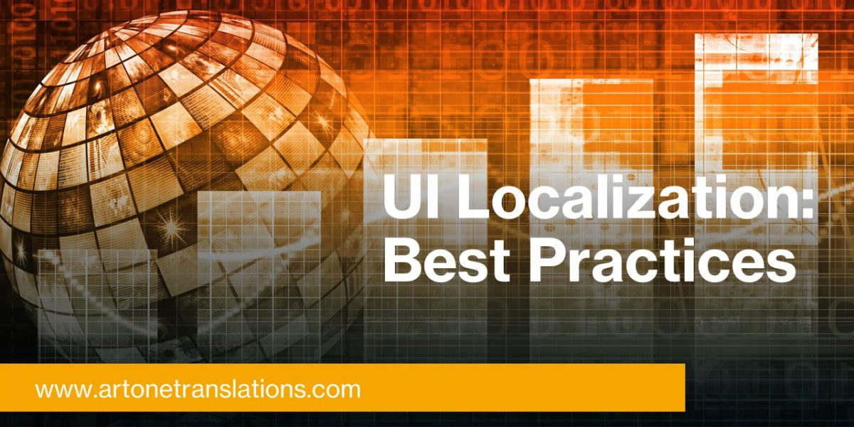 UI localization best practices