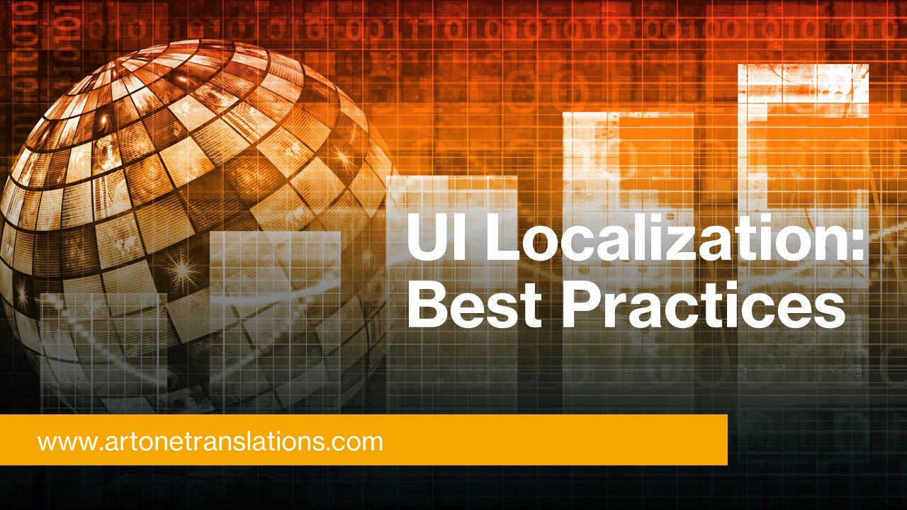 UI localization best practices