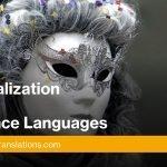 UI localization into Romance Languages