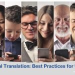 Technical Translation: Best Practices for Usability